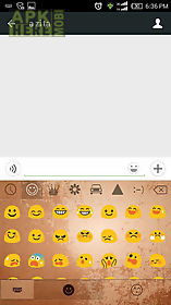 retro theme - ikeyboard emoji