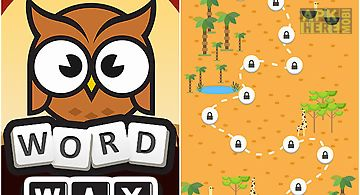 Word way: brain letters game