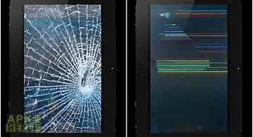 Broken screen