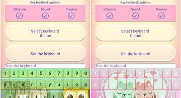 Cute owl emoji keyboard
