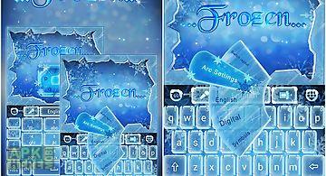 Frozen go keyboard theme