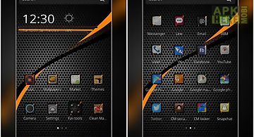 go sms pro carbon fiber theme for android free download at apk here