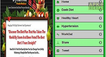 Dash diet for hypertension