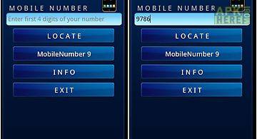 New mobile number locator