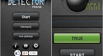 Voice lie detector prank