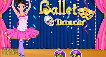Ballet dancer - dress up game