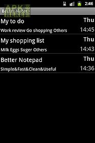 Better notepad for Android free download at Apk Here store