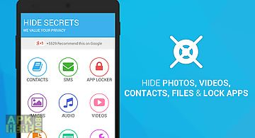 Hide pics, sms & lock apps