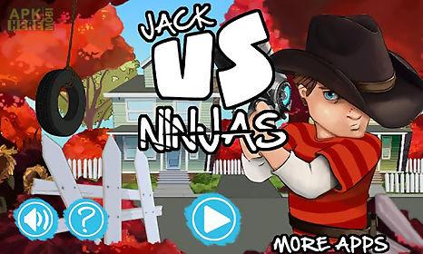 jack vs ninjas: adventure game