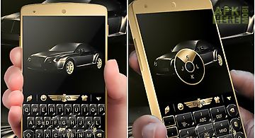 Luxury car go keyboard theme