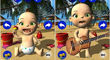 My baby: babsy at the beach 3d