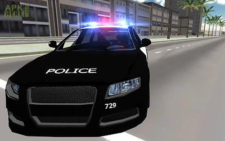 police car drift 3d