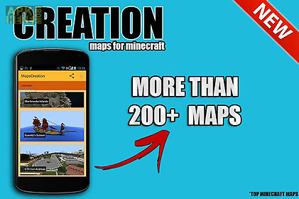 Creation Maps For Minecraft For Android Free Download At Apk Here - Minecraft maps fur android