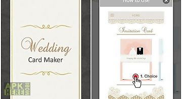 Wedding invitation card maker for android free download at apk here wedding card maker stopboris Choice Image