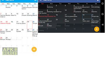 Aa task (calendar & memo)