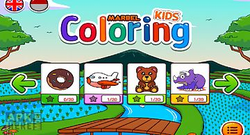 Marbel coloring books
