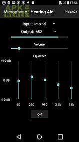 Microphone - hearing aid for Android free download at Apk