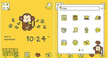 Monkey dodol launcher theme