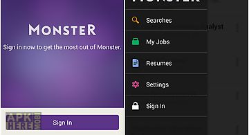 Monster job search
