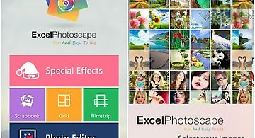 Photoscape by excel