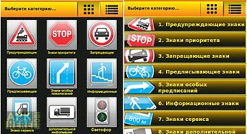 Traffic signs russia