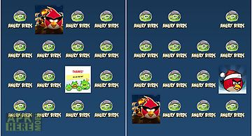 Angry birds match up game