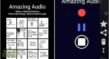 Amazing audio recorder lite