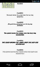 fonts for flipfont 5