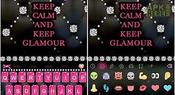 Glamour emoji kika keyboard