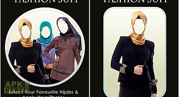 Hijab women fashion suit