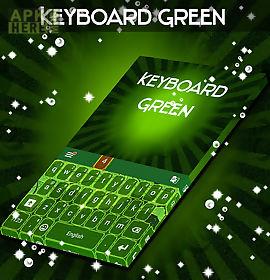 keyboard green weed