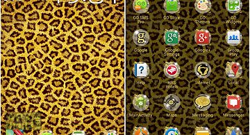 Theme leopard for go launcher