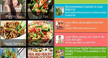 Healthy food recipes free for android free download at apk here how to cook healthy chinese food forumfinder Gallery