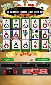 video poker: slot machine