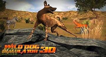 Wild dog simulator 3d