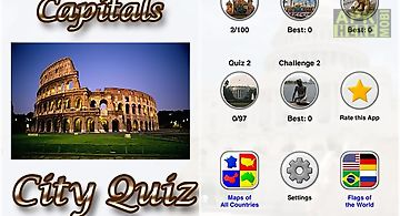 All world capitals: city quiz