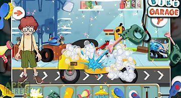 Bike garage - fun game