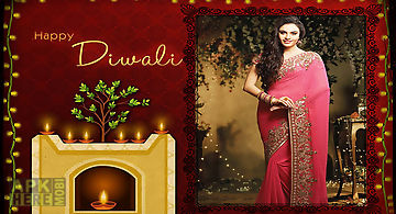 Diwali party photo frames