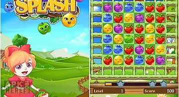 Fruit splash: funny jelly storm