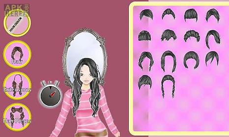 a-list girl ★ hair salon
