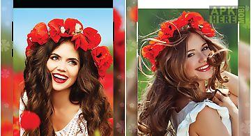 Flower crown image editor