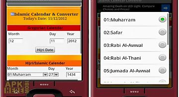 Islamic calendar & prayer time for Android free download at