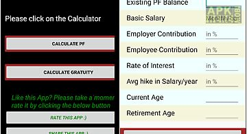 Pf calculator
