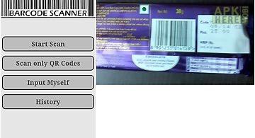 Qr code and bar code scanner