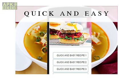 Quick and easy recipes food for android free download at apk here quick and easy recipes food forumfinder Gallery