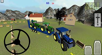 Tractor transporter 3d