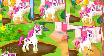 Cute pony care – girl game