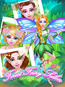 forest fairy salon: girl game