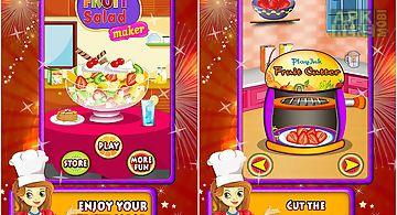 Fruit salad maker cooking game