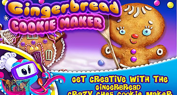 Gingerbread crazy chef